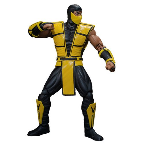 Mortal Kombat 3 Scorpion 1:12 Scale Action Figure – Free Shipping