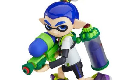 Splatoon Boy Figma Action Figure – Free Shipping