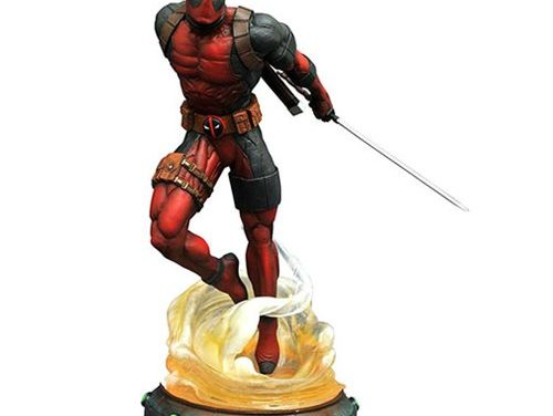 Marvel Gallery Deadpool 9-Inch Statue – Free Shipping