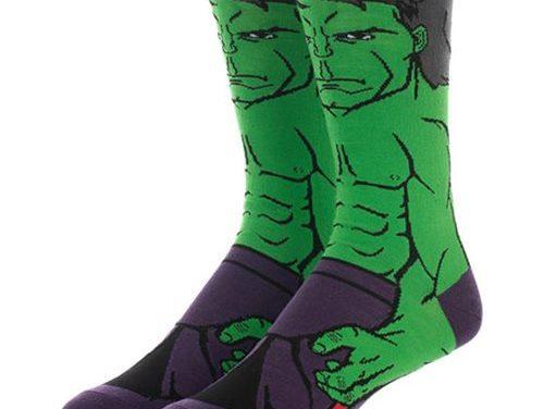 Avengers: Endgame Hulk 360 Character Sock