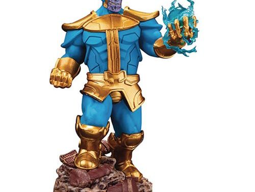 Avengers: Infinity War Thanos D-Select Series DS-014 Comic Version Statue – Previews Exclusive – Free Shipping