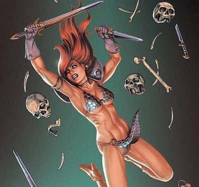 Red Sonja #10 Linsner Virgin Cover