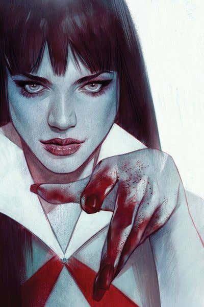 Vengeance of Vampirella #2 Oliver Ltd Virgin Cover