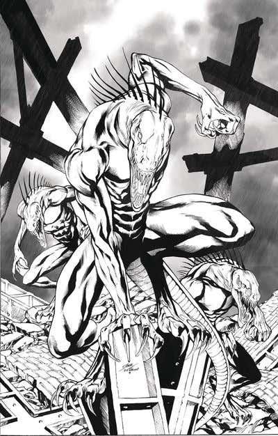 Monster Planet #2 (of 5) (Cover D – Vitorino)
