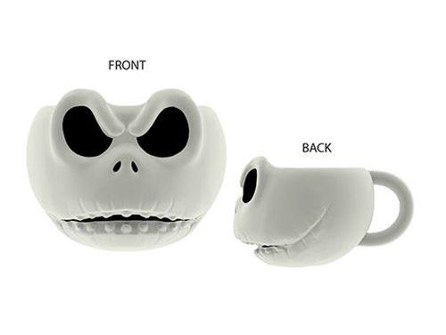 Nightmare Before Christmas Jack Skellington Ceramic 3D Sculpted Mug