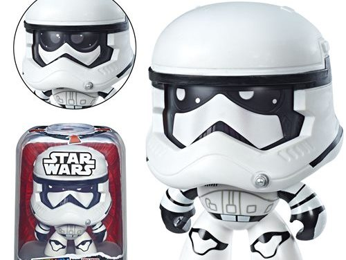 Star Wars Mighty Muggs First Order Stormtrooper Figure – Free Shipping