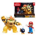 Nintendo Mario vs. Bowser Wave 1 Diorama Set
