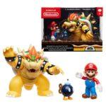 Nintendo Mario vs. Bowser Wave 1 Diorama Set