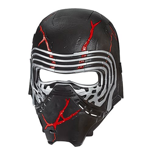Star Wars: The Rise of Skywalker Supreme Leader Kylo Ren Force Rage Electronic Mask – Free Shipping