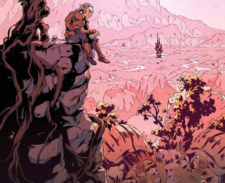 Jim Henson Dark Crystal Age Resistance #3 (25 Copy FOC Variant)