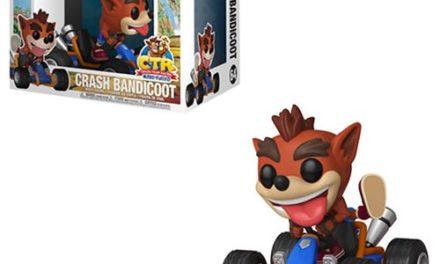 Crash Bandicoot Crash Team Racing Pop! Vinyl Vehicle #64 – Free Shipping