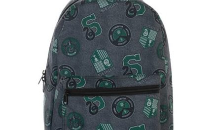 Harry Potter Slytherin Print Backpack – Free Shipping