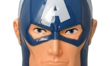 Captain America Head Ceramic Molded Mug