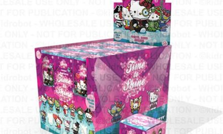 Hello Kitty Time to Shine Vinyl Mini-Figure Display Tray – Free Shipping