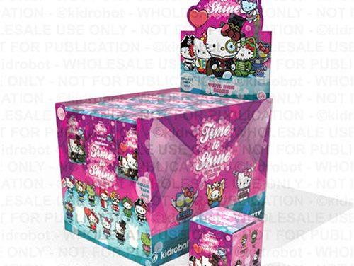 Hello Kitty Time to Shine Vinyl Mini-Figure Display Tray – Free Shipping