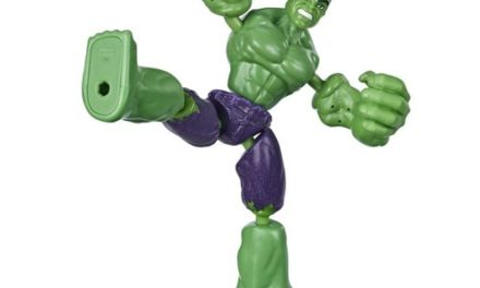 Avengers Bend and Flex Hulk Action Figure