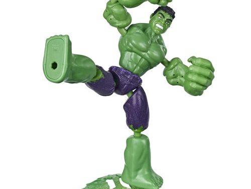 Avengers Bend and Flex Hulk Action Figure