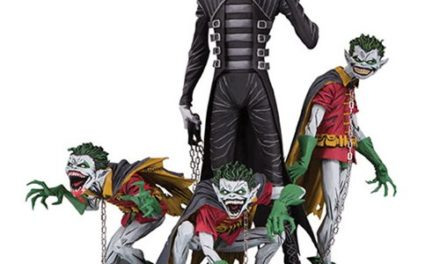 Dark Nights Metal Batman Who Laughs and Robins Deluxe Statue – Free Shipping