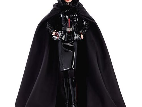 Star Wars x Barbie Darth Vader Doll – Free Shipping