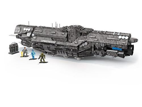 Halo Mega Construx UNSC Infinity Playset – Free Shipping