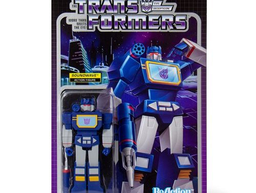 Transformers Soundwave 3 3/4-Inch ReAction Figure