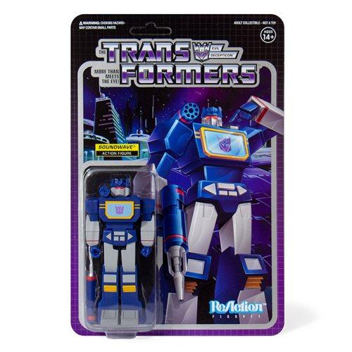 Transformers Soundwave 3 3/4-Inch ReAction Figure