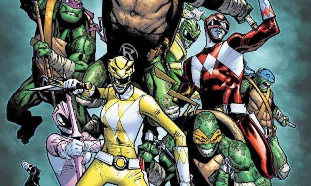 Power Rangers Teenage Mutant Ninja Turtles #2 (FOC Variant)
