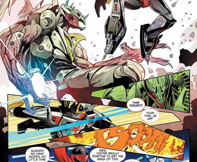 Mighty Morphin Power Rangers #47 (FOC Mora Variant)