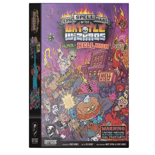 Epic Spell Wars of the Battle Wizards: Hijinx at Hell High