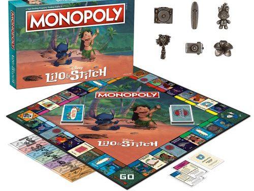 Disney Lilo & Stitch Monopoly Game