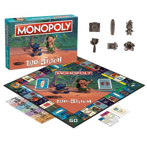Disney Lilo & Stitch Monopoly Game