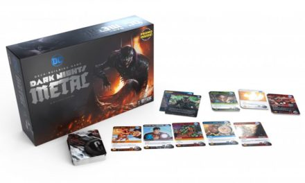 DC Dark Knights Metal Deck-Building Game