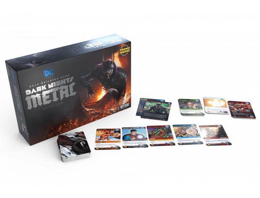 DC Dark Knights Metal Deck-Building Game