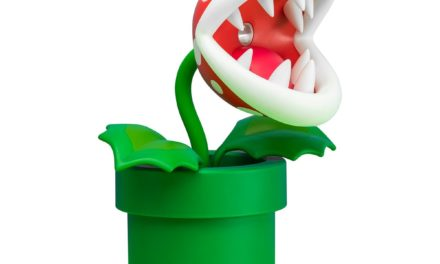 Super Mario Piranha Plant Poseable Lamp