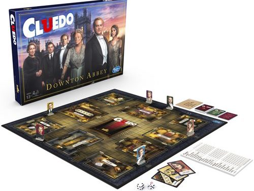 Downton Abbey Edition Clue Board Game